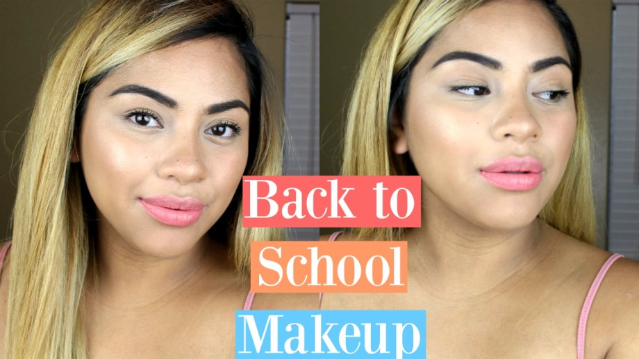 Quick Easy Drugstore Back To School Makeup 2016 N M D A I L Y
